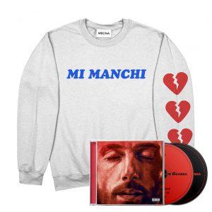 """Felpa """"MI MANCHI"""" + Doppio CD """"MNG Deluxe Edition"""" Autografato"""